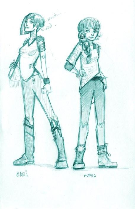 2b. Cari and Asha